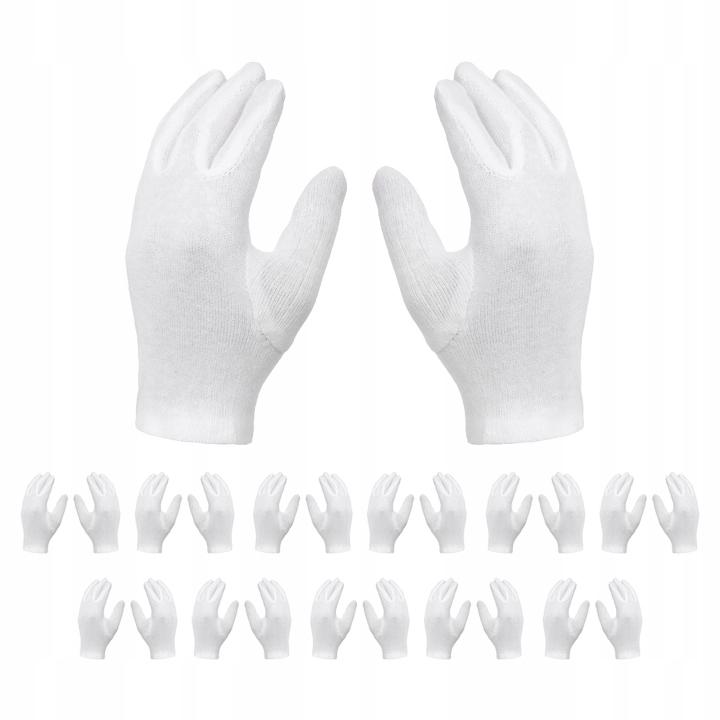 Хлопковые косметические перчатки Хлопковые 12 пар
