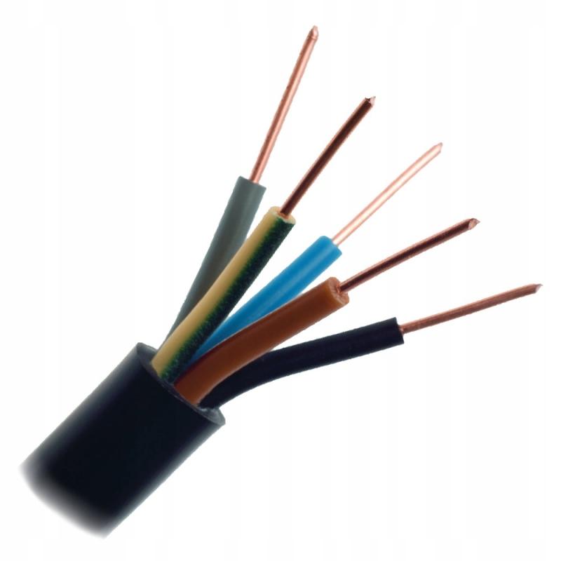 Kabel przewód ziemny YKY 5x4 0,6/1kV
