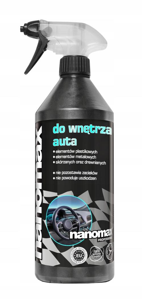 Жидкость Nanomax для чистки салона автомобиля 1л