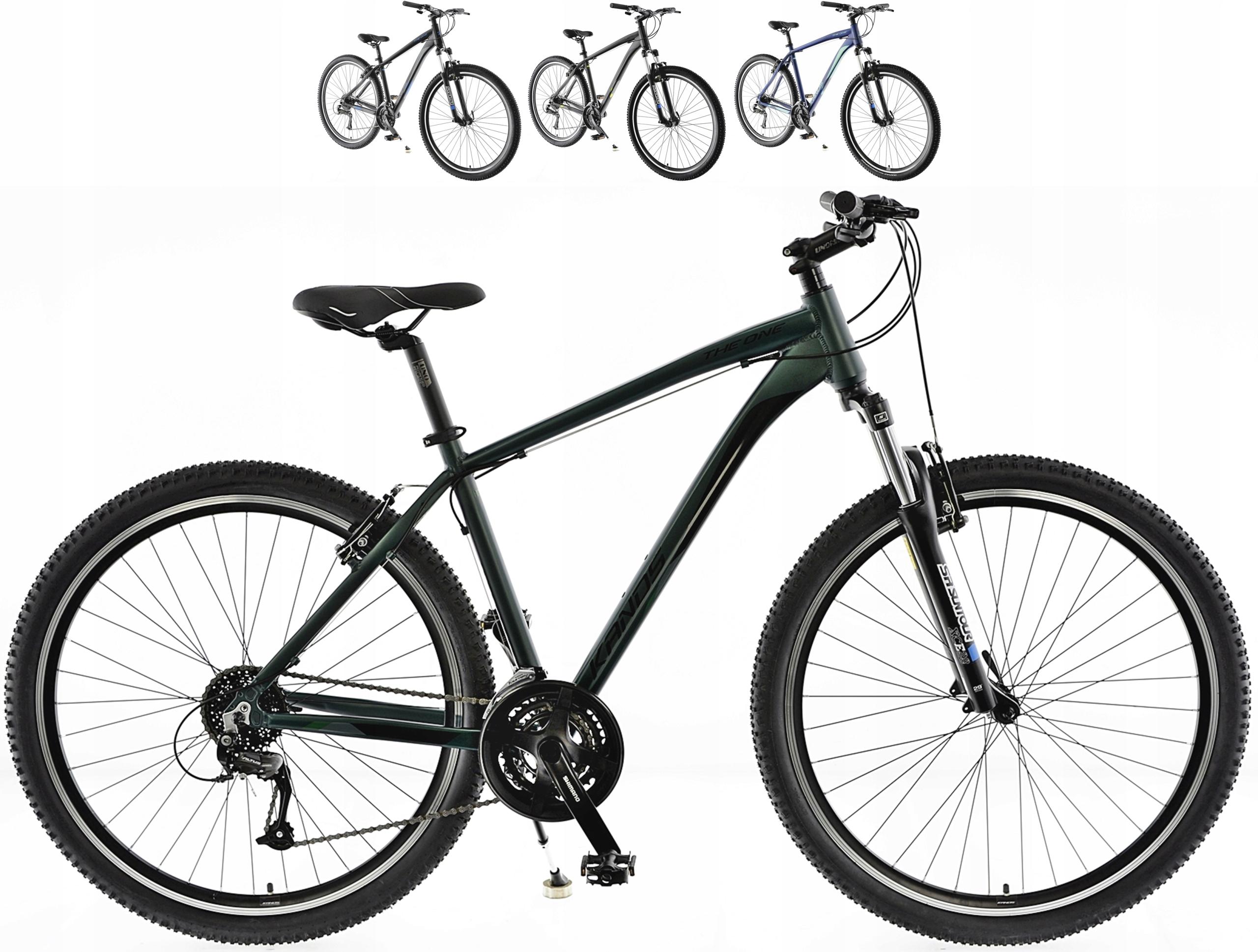 KANDS THE ONE rower mtb 29 VB altus 19 zieleń 2021