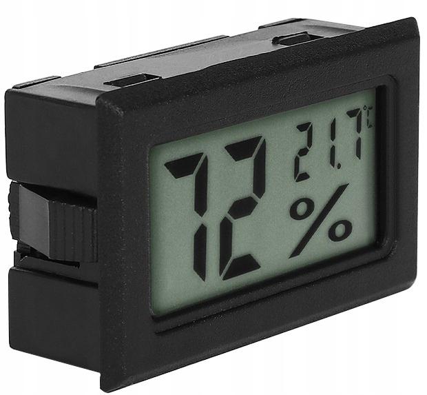 Цифровой термометр гигрометр 2в1 влагомер