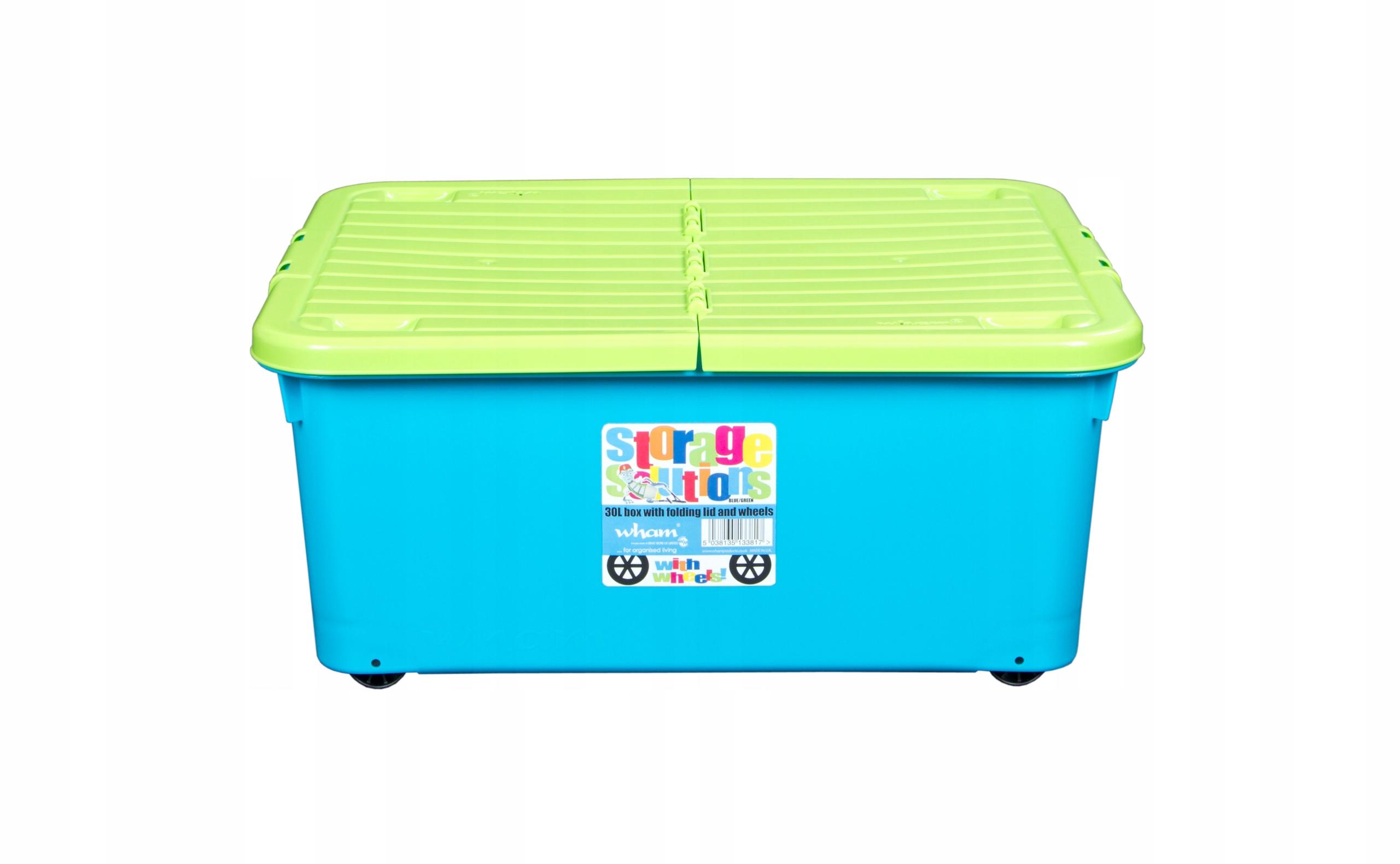 Контейнер для игрушек 4-х колесный 30л - продажа