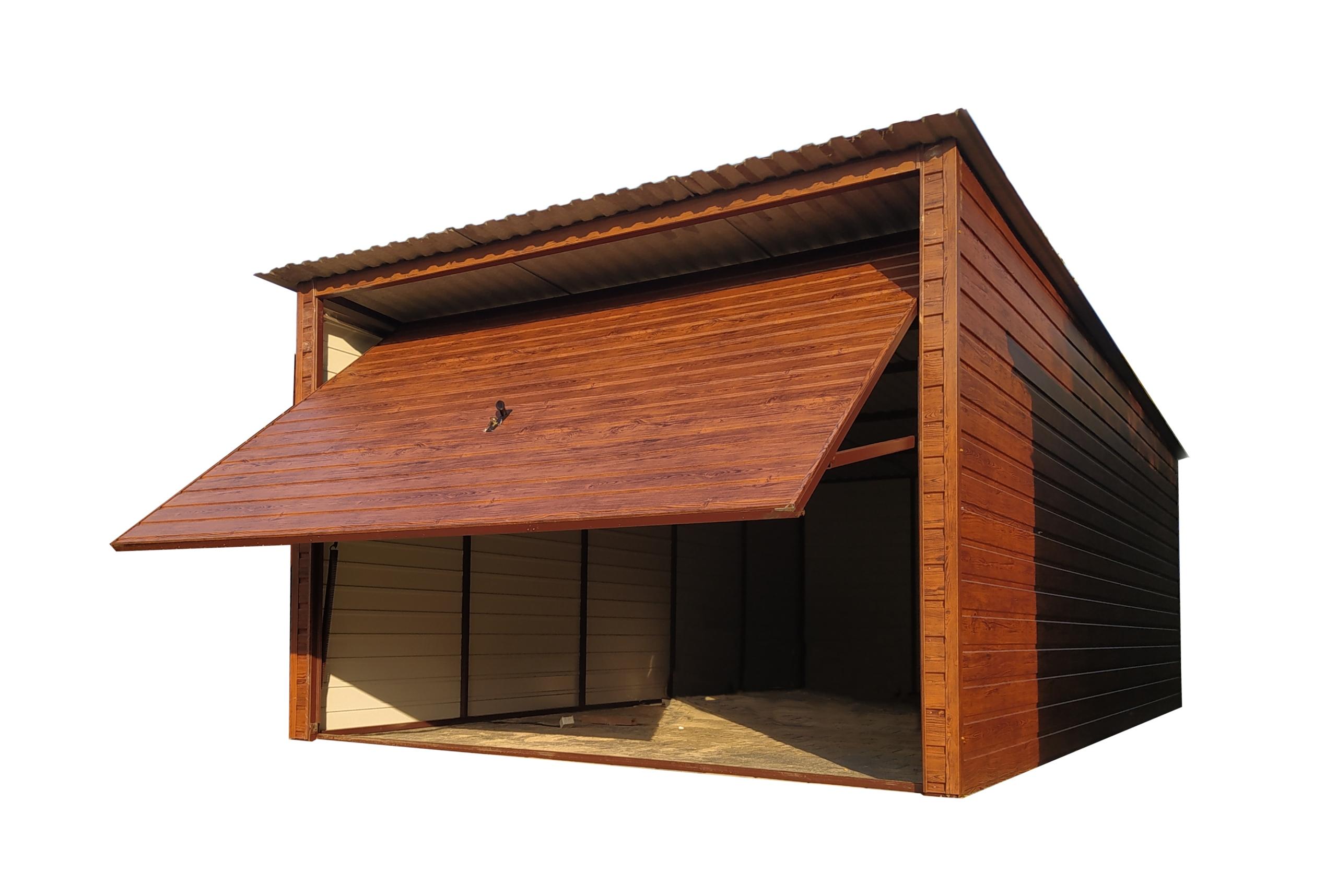 Garaż blaszany Profil 3x5