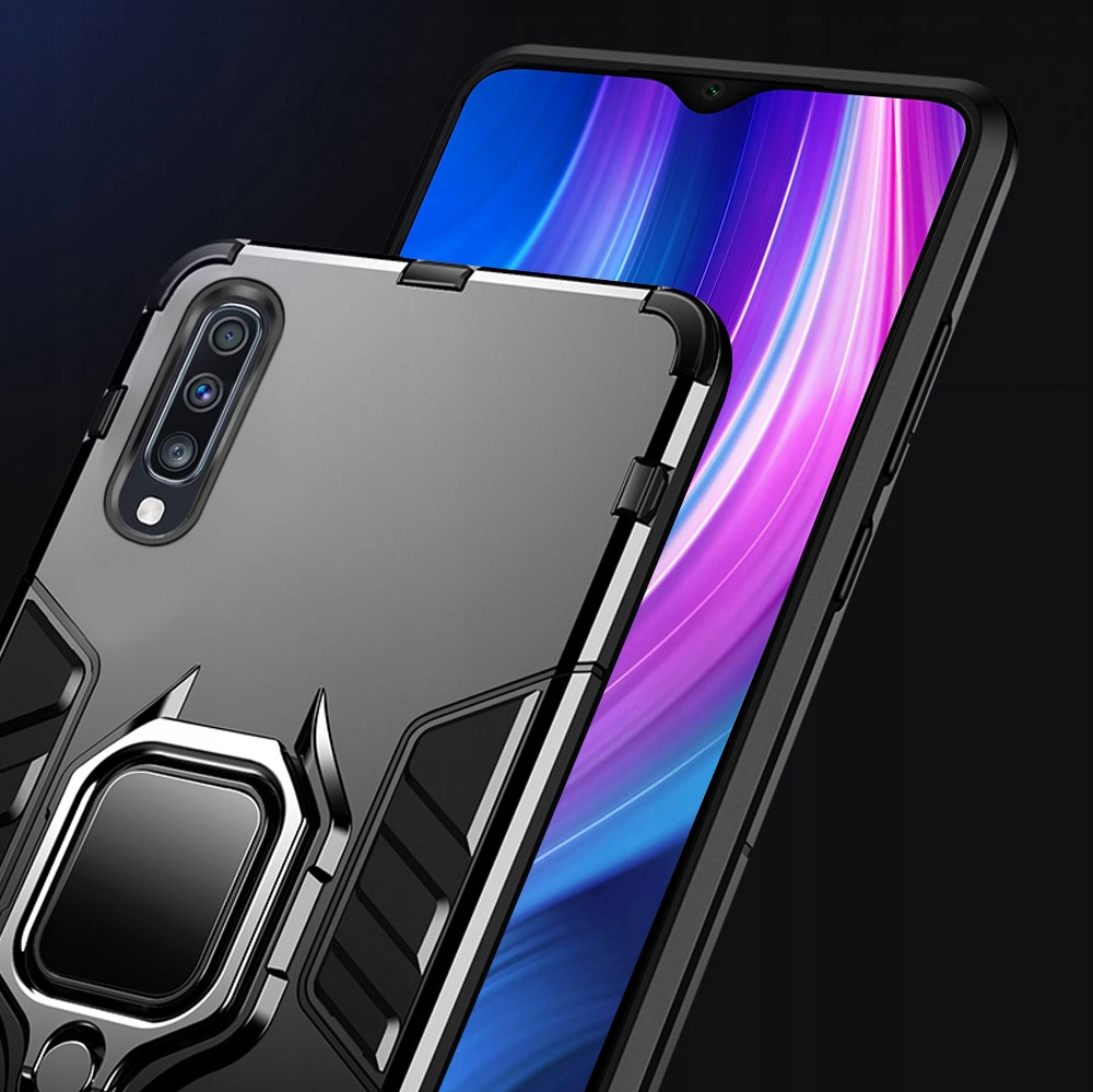 ETUI ARMOR RING HOLDER SZKŁO do Samsung Galaxy A50 Kod producenta E38