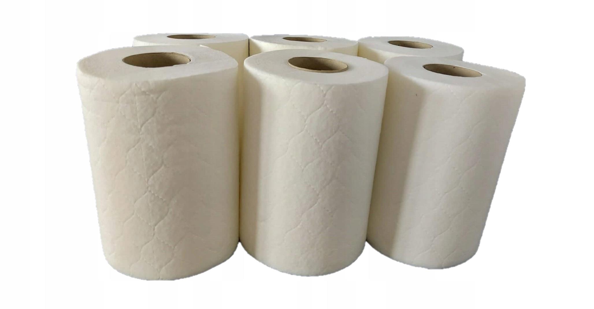 Одноразовые полотенца из нетканого материала 6x300г