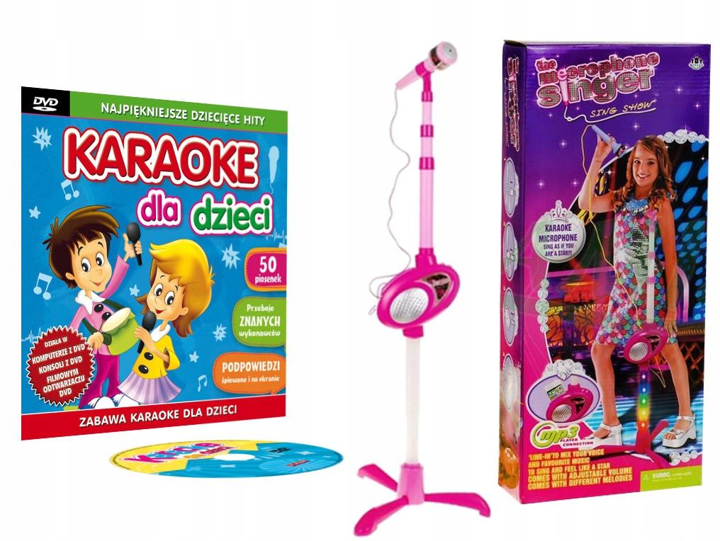 Najkrajší karaoke pre deti DVD + mikrofón