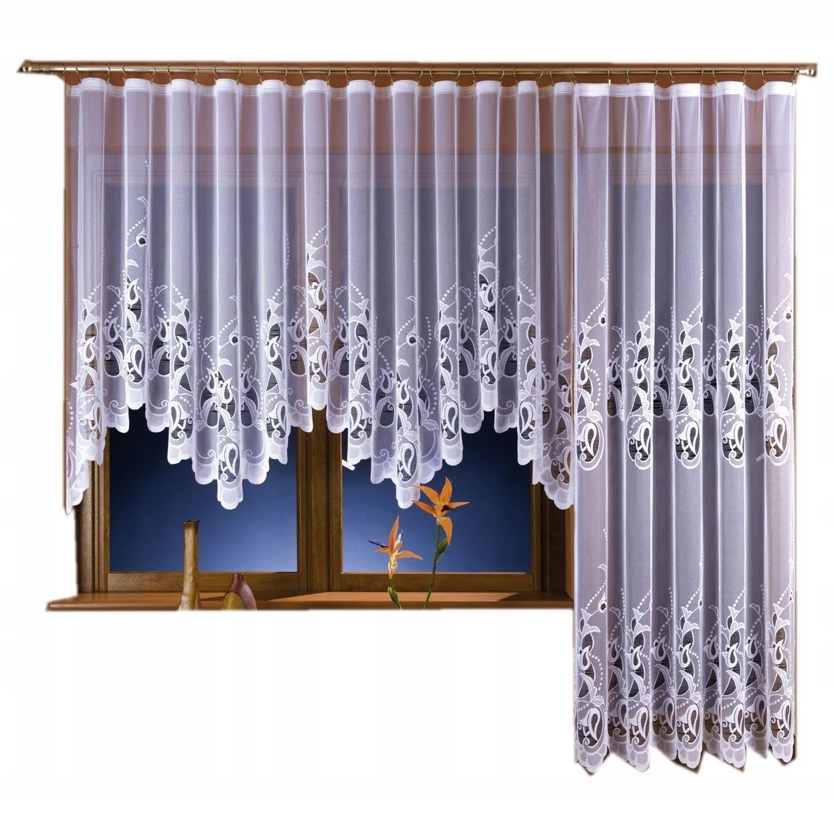 ЮСТИ балконные шторы, ширина. 200x250 см + 300x150 см