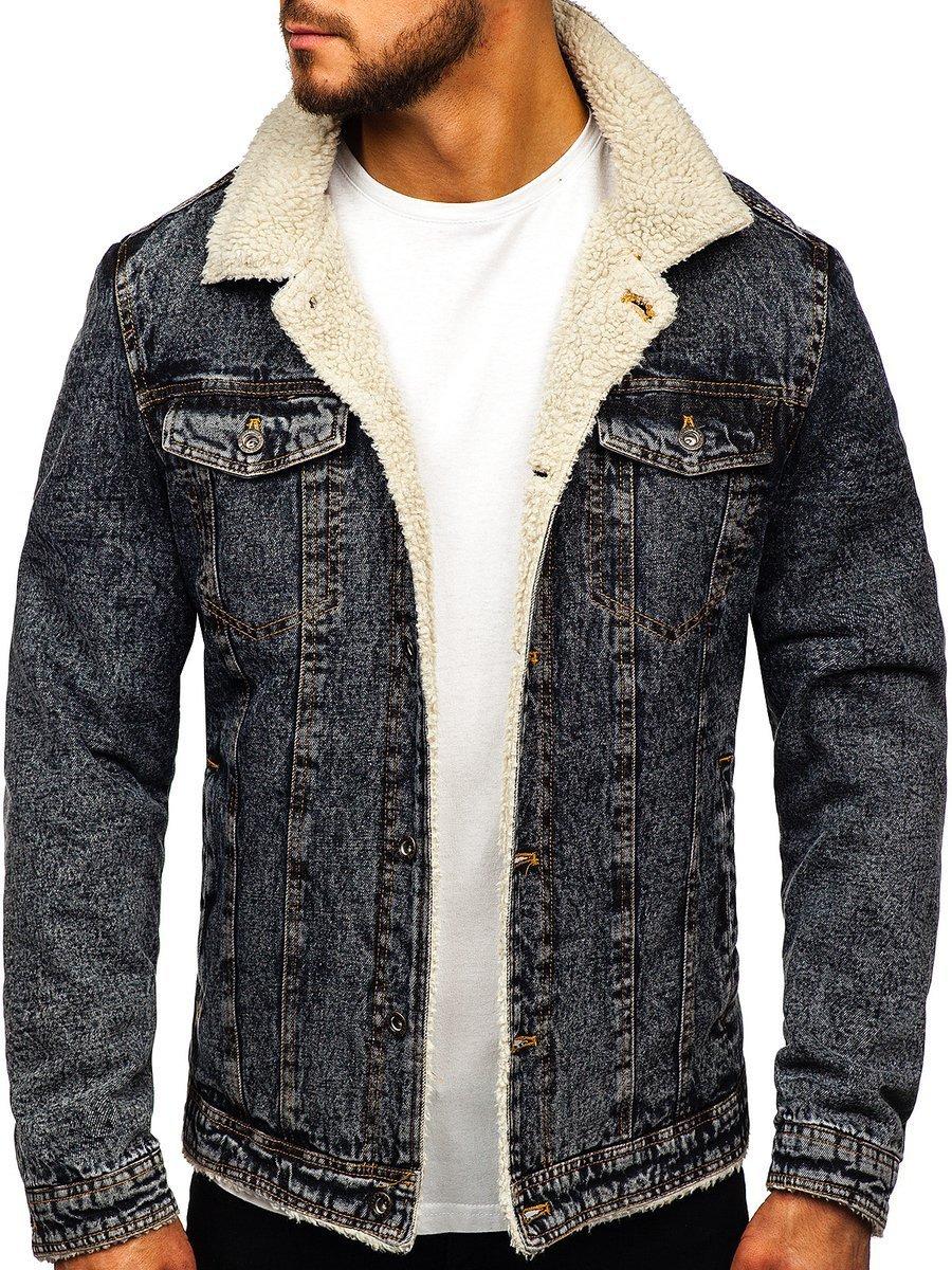 kurtki jeansowe calem