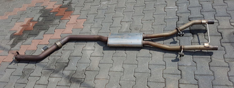 jaguar xf x250 20 тб глушитель труба выдох средний