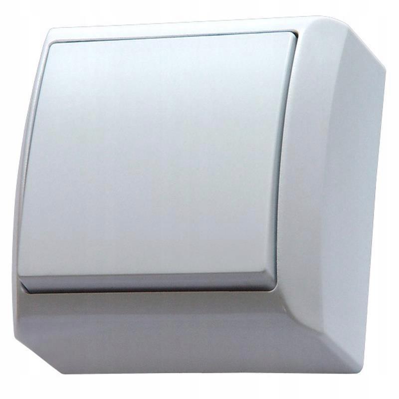 Выключатель Ospel Bis накладной одинарный ŁN-1B / 00