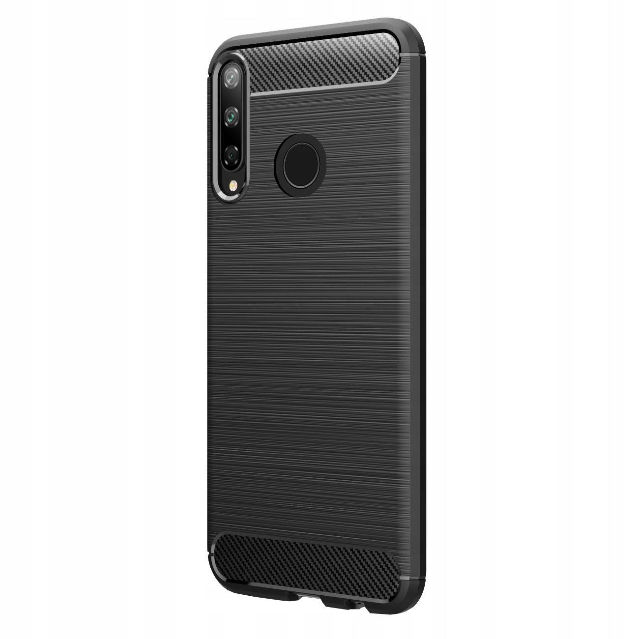 Etui do Huawei P40 Lite E, Tpu Carbon pokrowiec