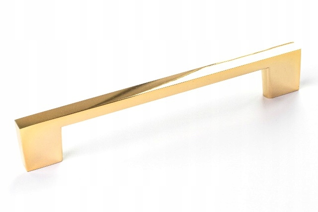 РУЧКА LUCCA HANDLE 128MM GOLD GLOSS GOLD TECHNO