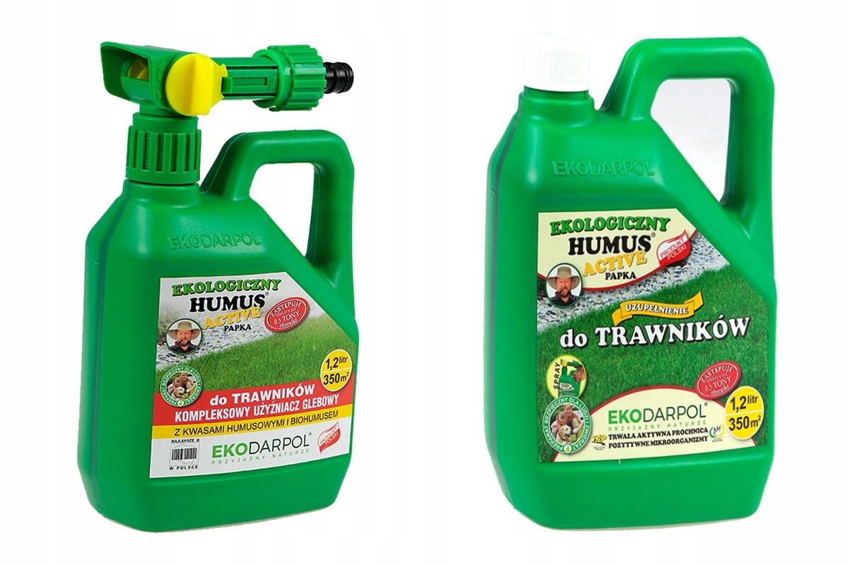 Humus active trawników trawy NAWÓZ spray + zapas
