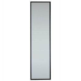 Zrkadlo RON rám 120x30cm čierny