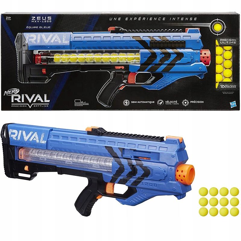 NERF RIVAL BALL LAUNCHER ZEUS MXV-1200 B1593