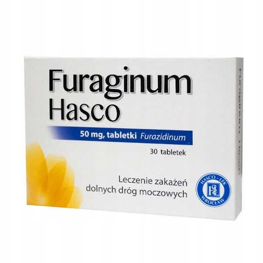 Furaginum HASCO furagina drogi moczowe pęcherz 30