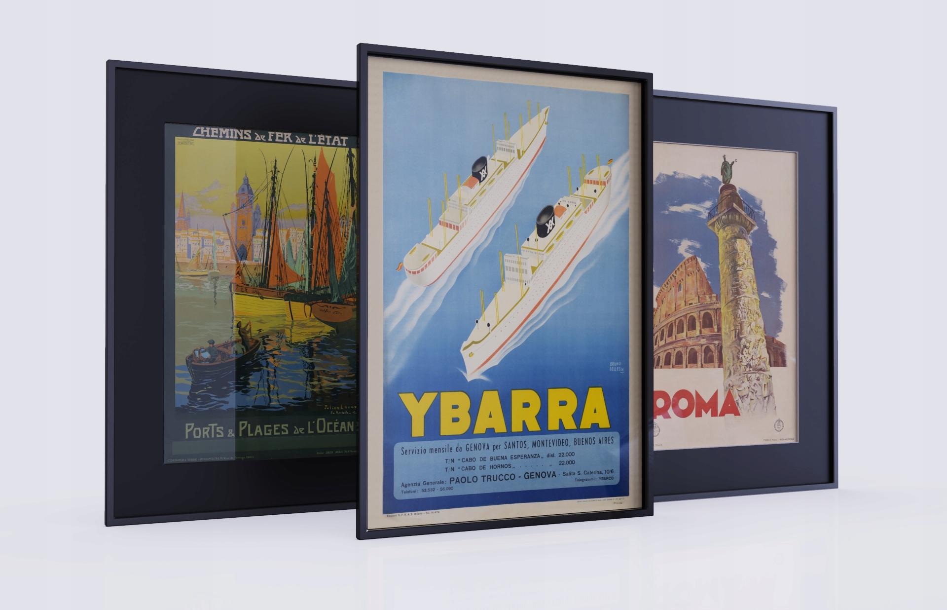 Stare Plakaty Duży Wybór Jakość Premium 70x50cm B2