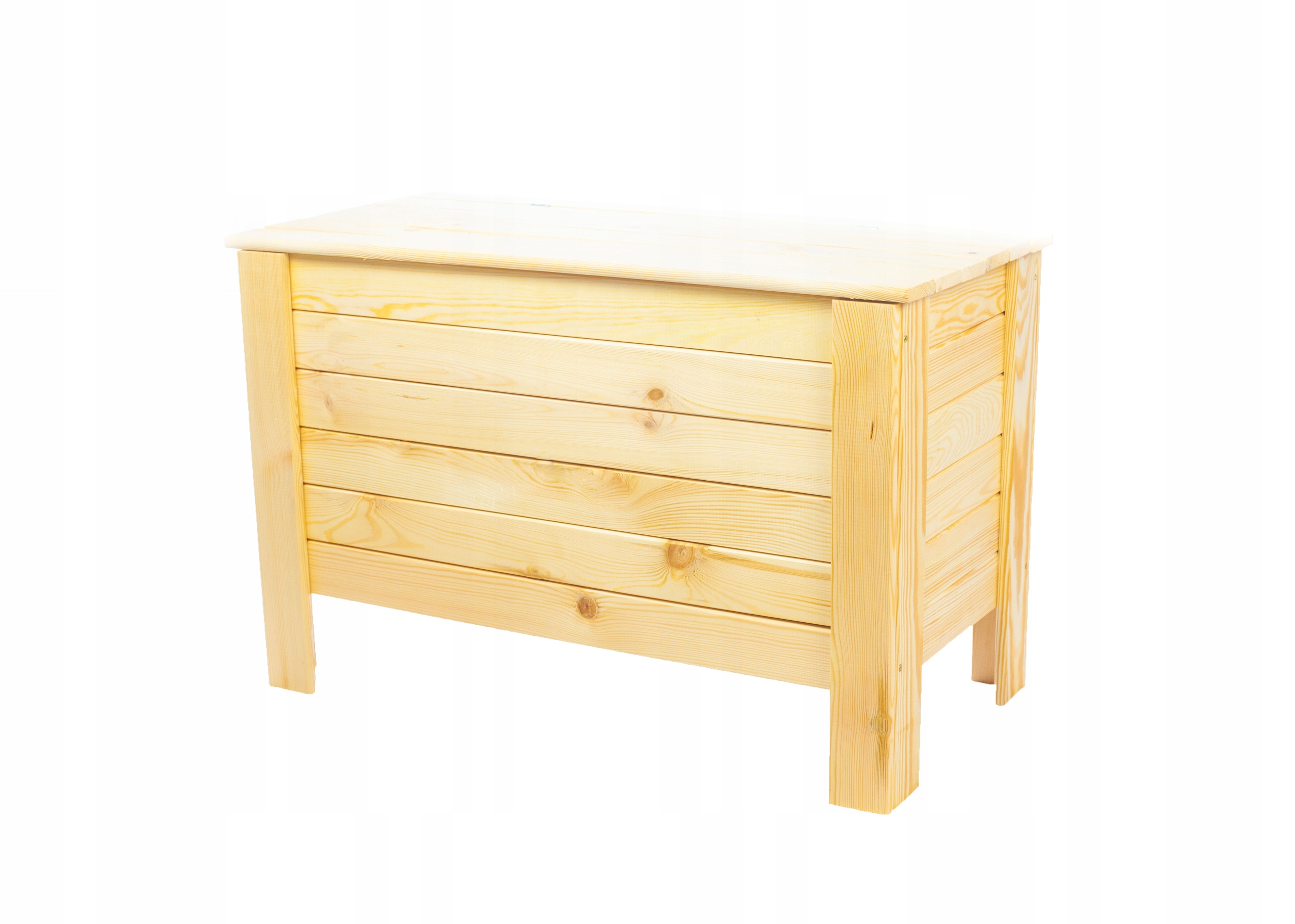 Skrzynia drewniana ogrodowa kufer pojemnik ławka