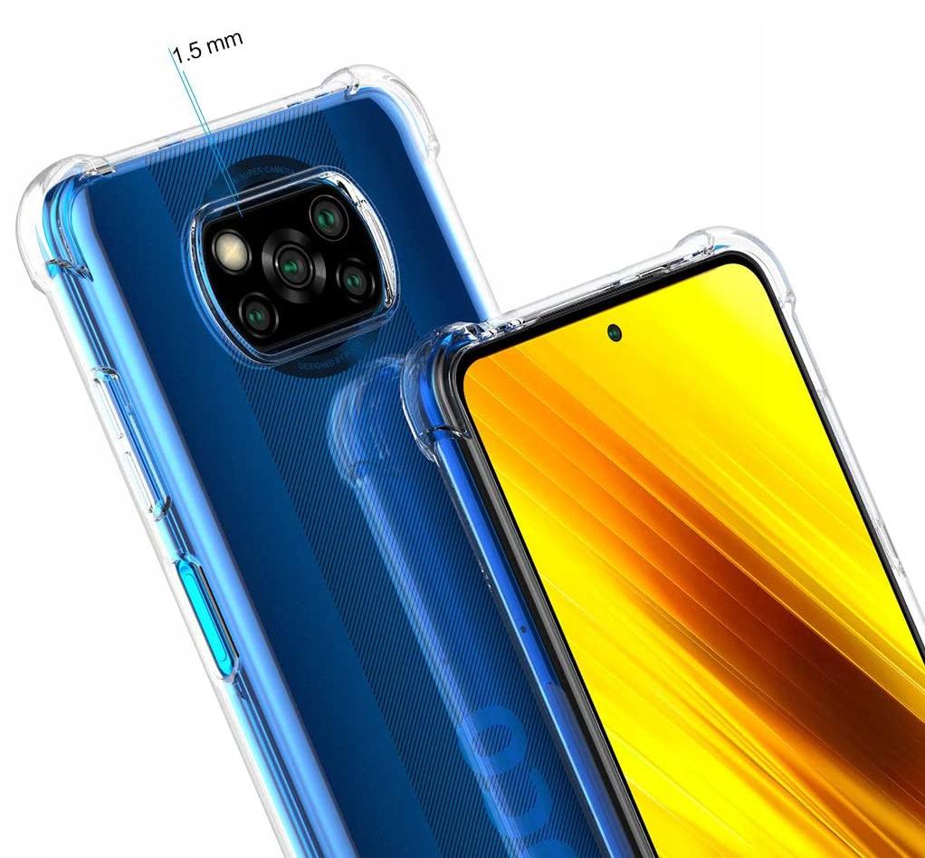 Etui do Xiaomi POCO X3 NFC ANTI-SHOCK + Szkło Producent Kraina GSM
