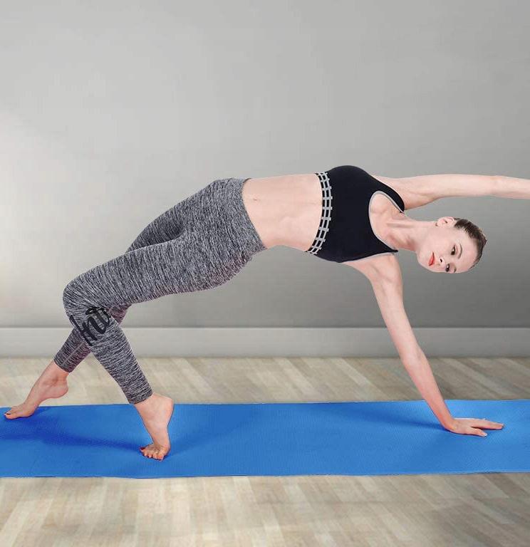 Mata do ćwiczeń fitness jogi antypoślizg karimata Cechy dodatkowe antypoślizgowa powierzchnia uchwyty do przenoszenia wodoodporność