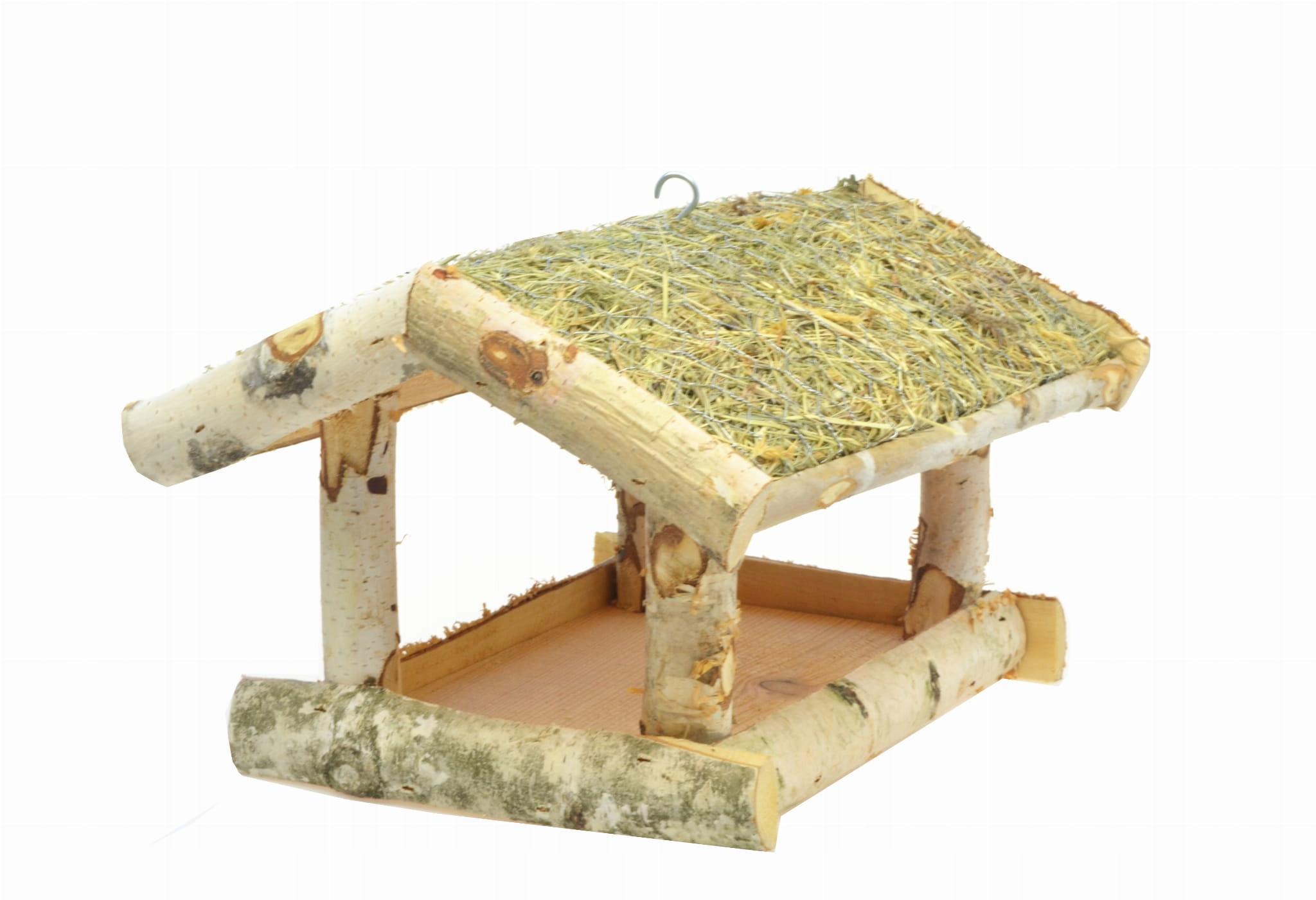 Кормушка для птиц, сарай, домик, дрова К105