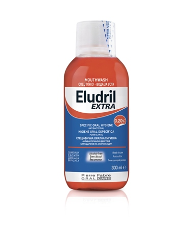 Eludril EXTRA 0,20% Płyn do jamy ustnej, 300ml
