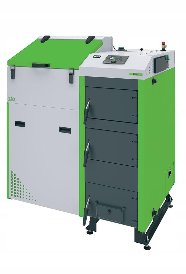 Kotol SAS Spark 14 kW na ekologické hrachové uhlie do 160 m2
