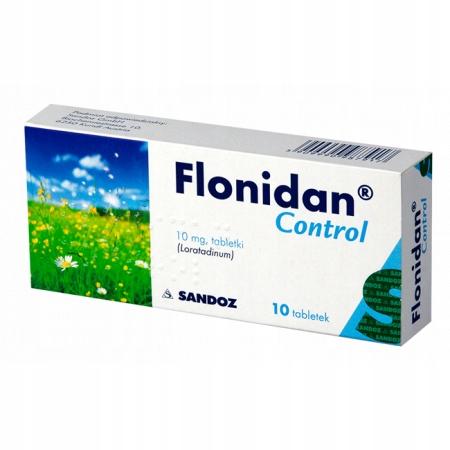 Flonidan Control 10 mg, 10 tabl uczulenie alergia