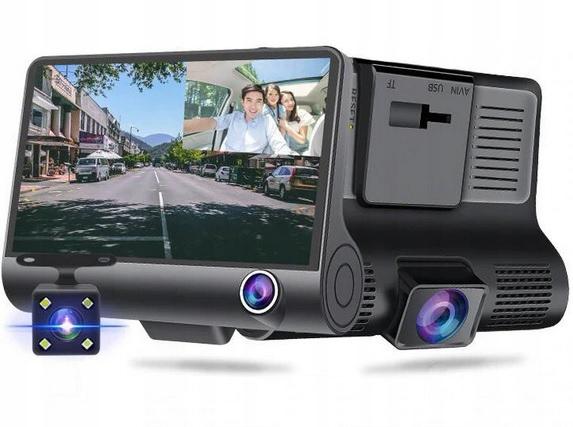 Современный видеорегистратор высокой четкости с камерой заднего вида