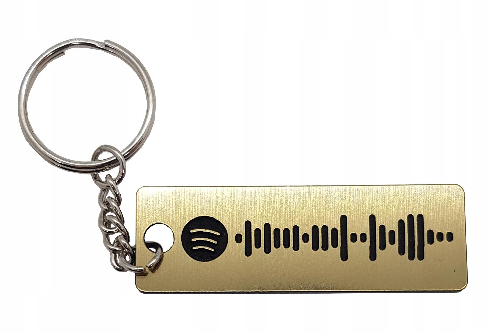 Брелок Spotify музыкальная песня плейлист любой