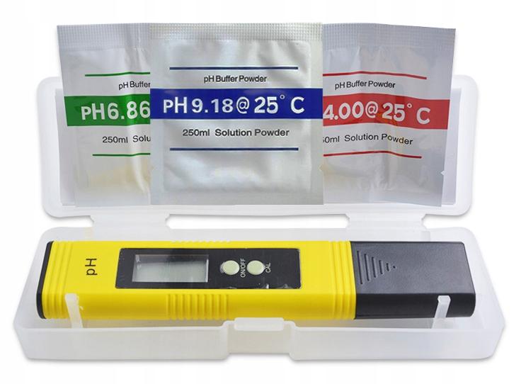 Miernik pH metr tester bufory wody ATC kompensacja
