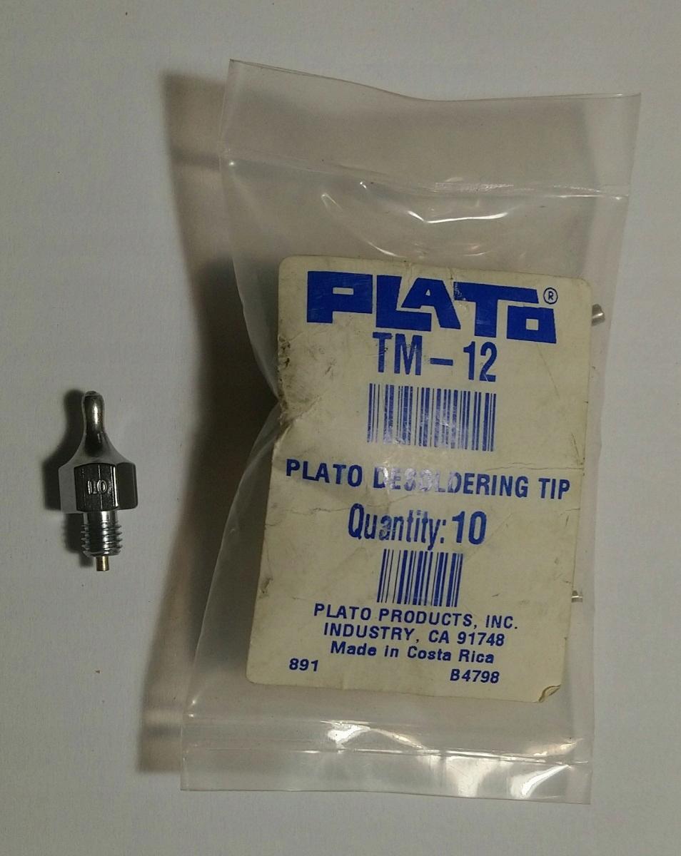 Tryska na odpájanie Weller DS 112, Plato TM-12