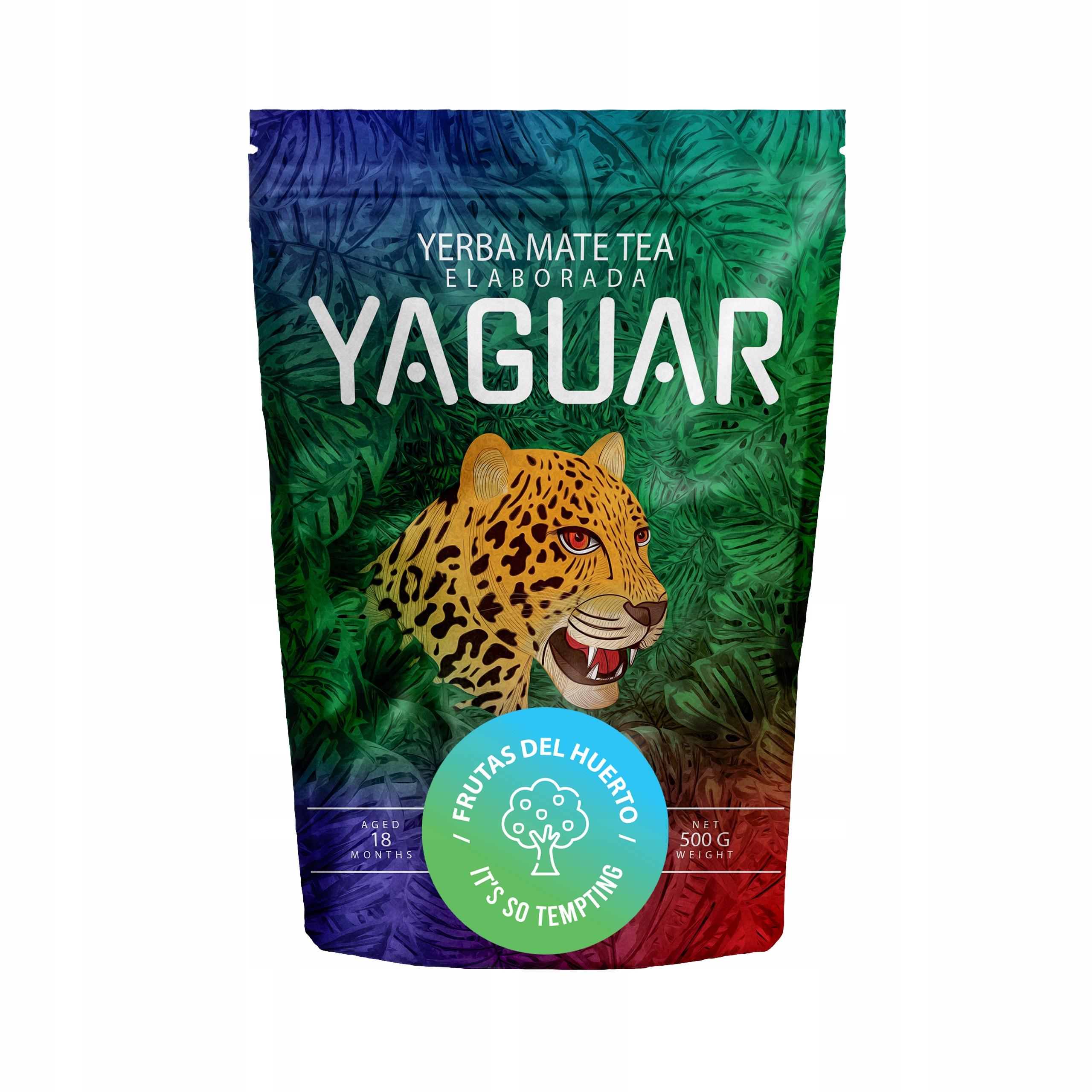 Yerba Mate Yaguar Frutas del Huerto 0.5kg