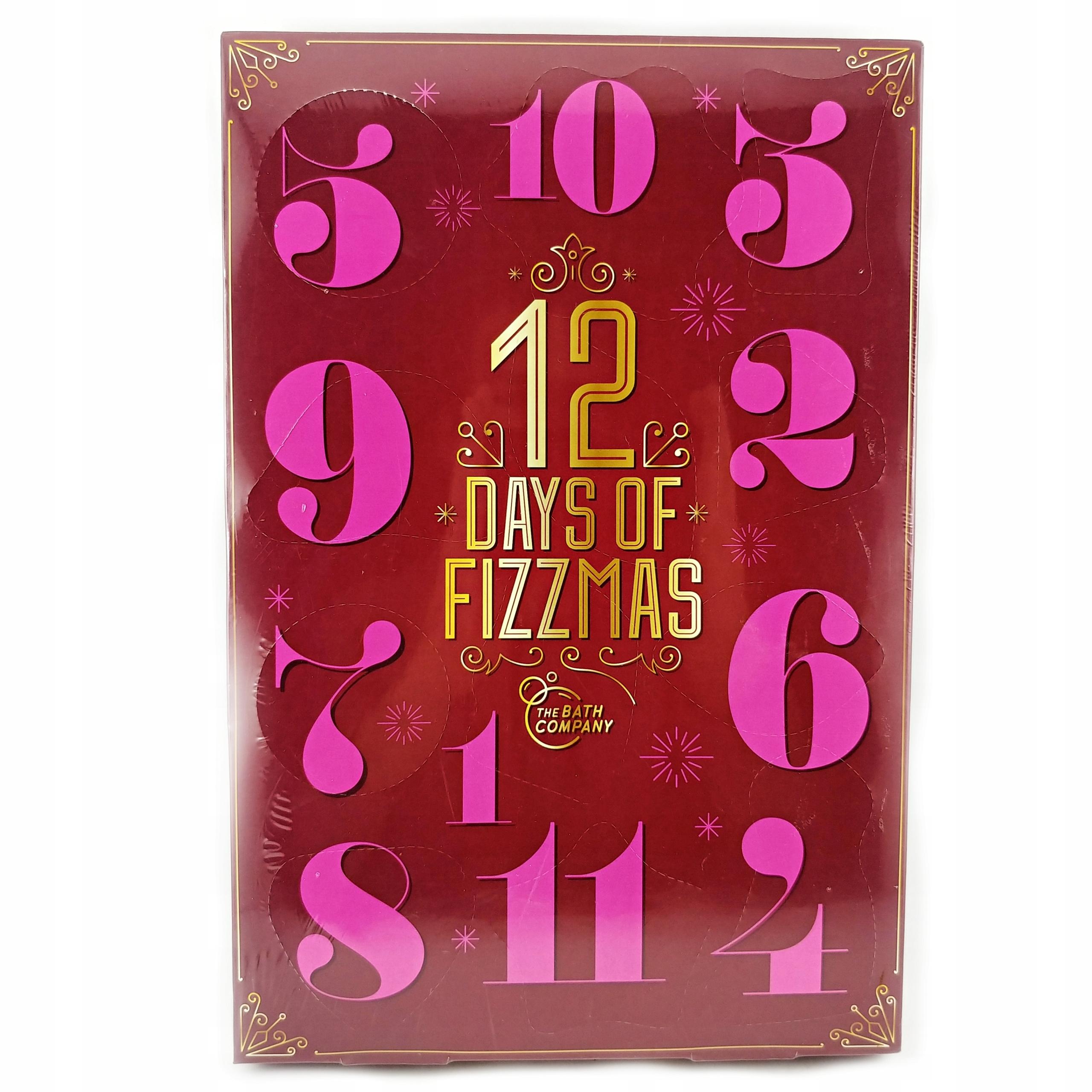 Kalendarz Adwentowy Z Kosmetykami Kule Musujace 9945068936 Allegro Pl