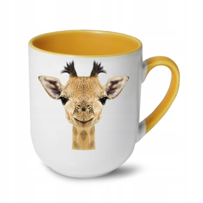 Кружка с принтом - Жираф - ЖИВОТНЫЕ