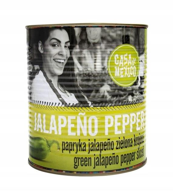 Papryka Jalapeno zielona CASA DE MEXICO 2,9kg