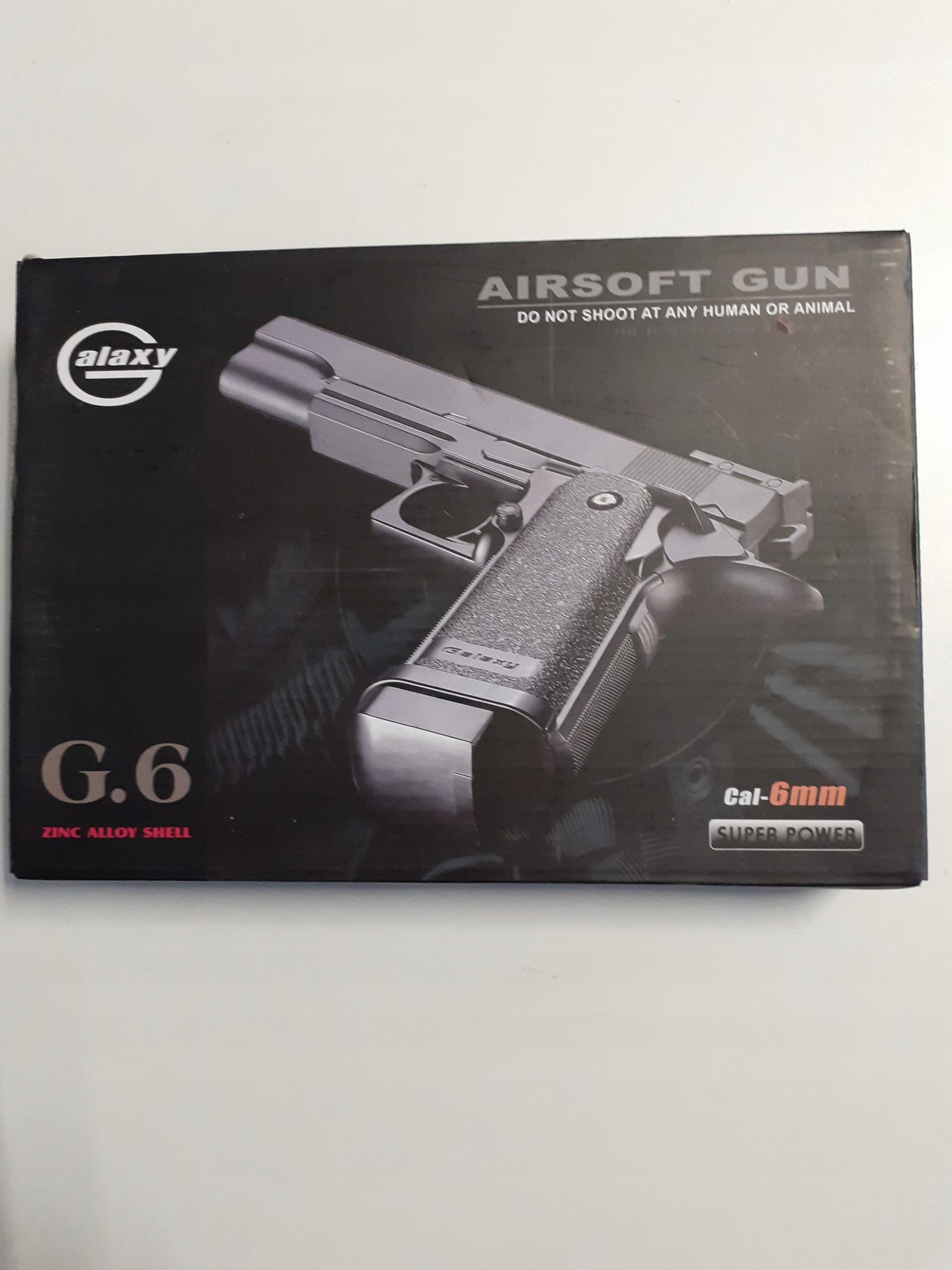 METAL GUN G6 Colt 1911 + pištoľ a náboje