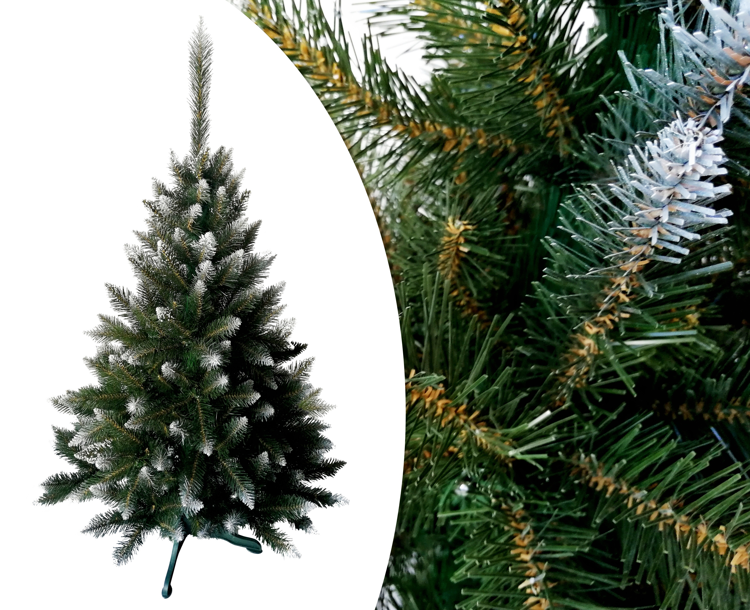 Umelý vianočný stromček ALPINE DIAMOND SMOR 120CM