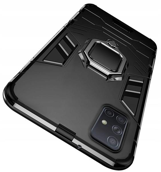 Etui do Samsung Galaxy M51 Pancerne Case + Szkło