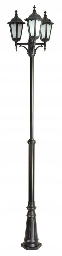 Lampa garden RETRO 3x60W maják 195-295 cm