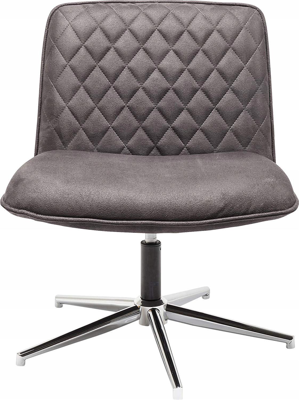 Barová stolička KARE RETRO DESIGN hnedé kreslo