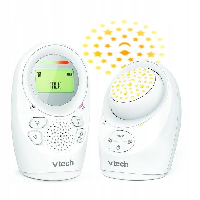 VTech cyfrowa Niania elektroniczna LCD projektor