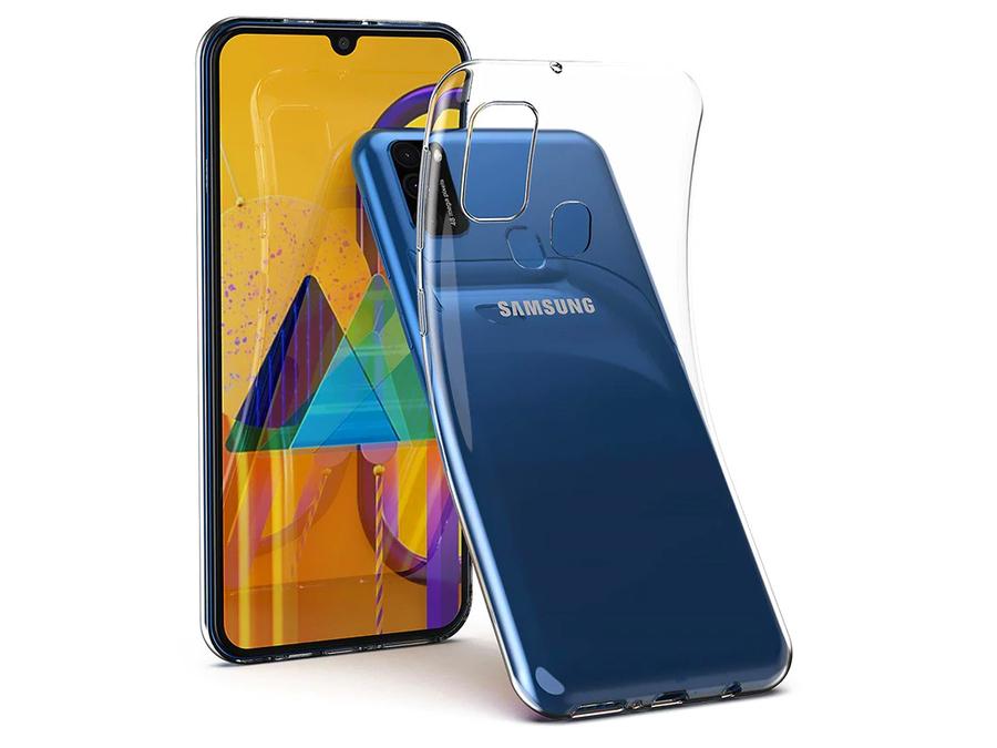 Купить Силиконовый тонкий чехол для Samsung Galaxy M21 на Otpravka - цены и фото - доставка из Польши и стран Европы в Украину.