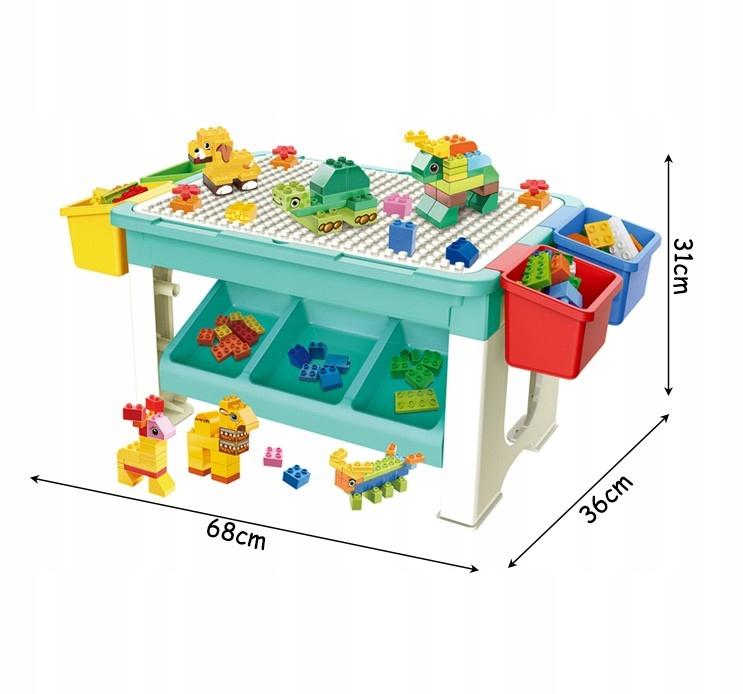 Игровой стол с блоками