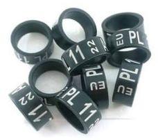 Голубиные кольца - 7 8 9 10 11 12 мм