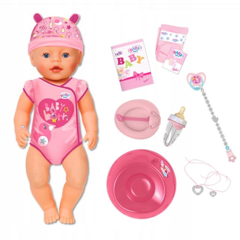 interaktívna bábika a1s Baby Born Soft Touch 43cm