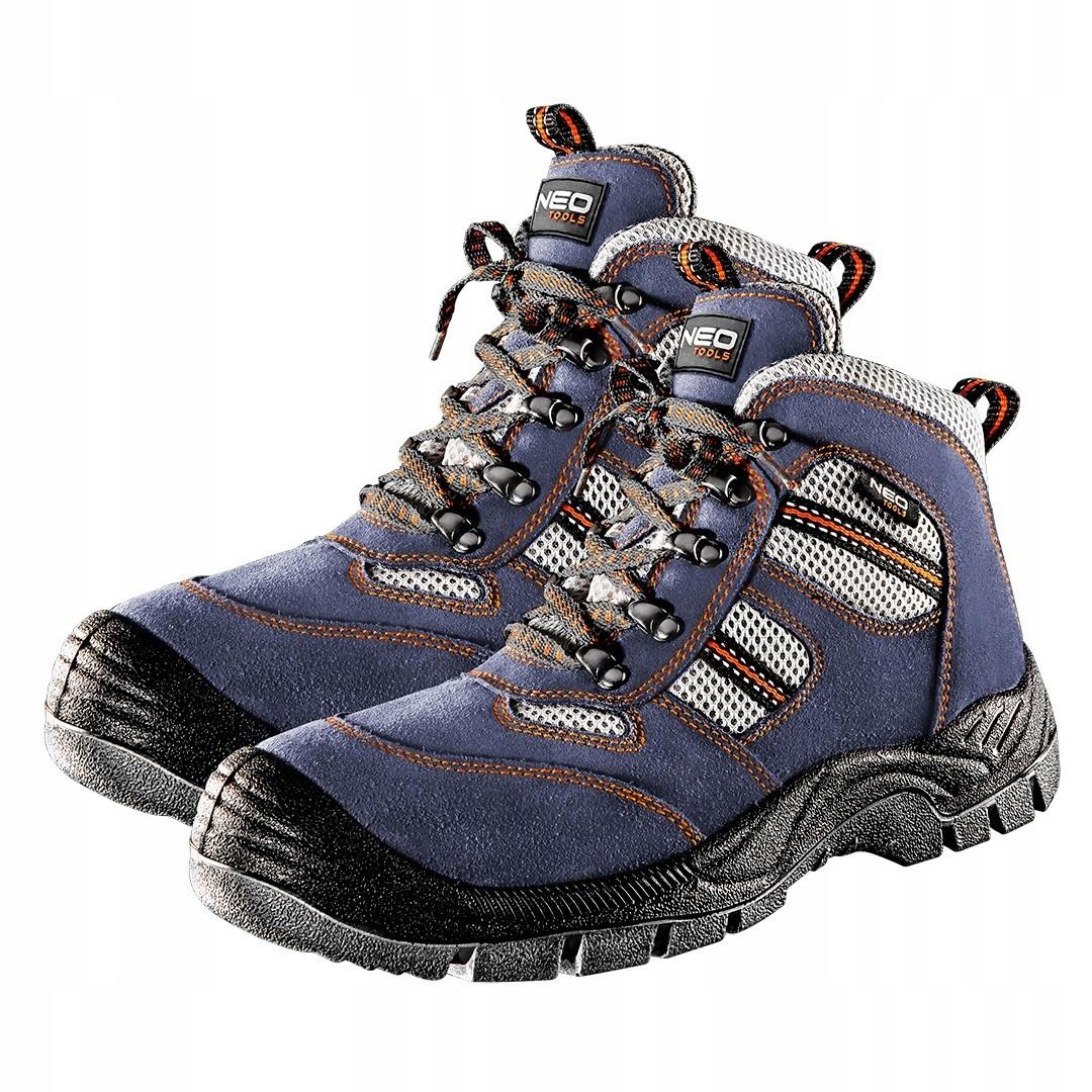 Туфли и рабочие ботинки замшевые NEO 82042 серый 41