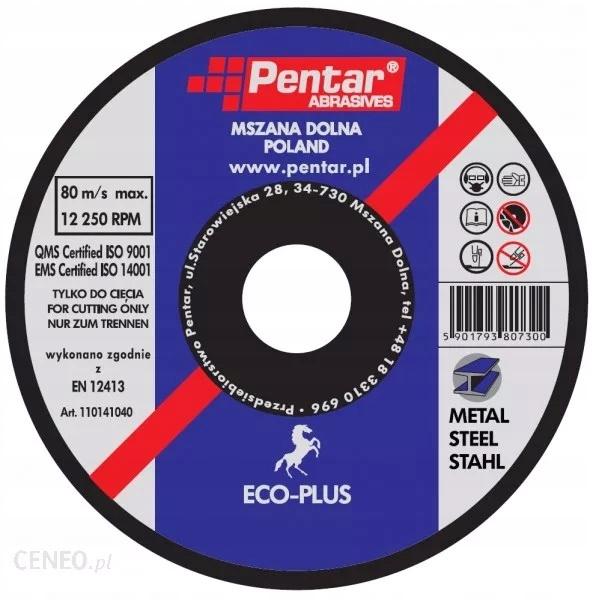 Kovový rezací kotúč 125x1x22 Penttar Eco 50 ks