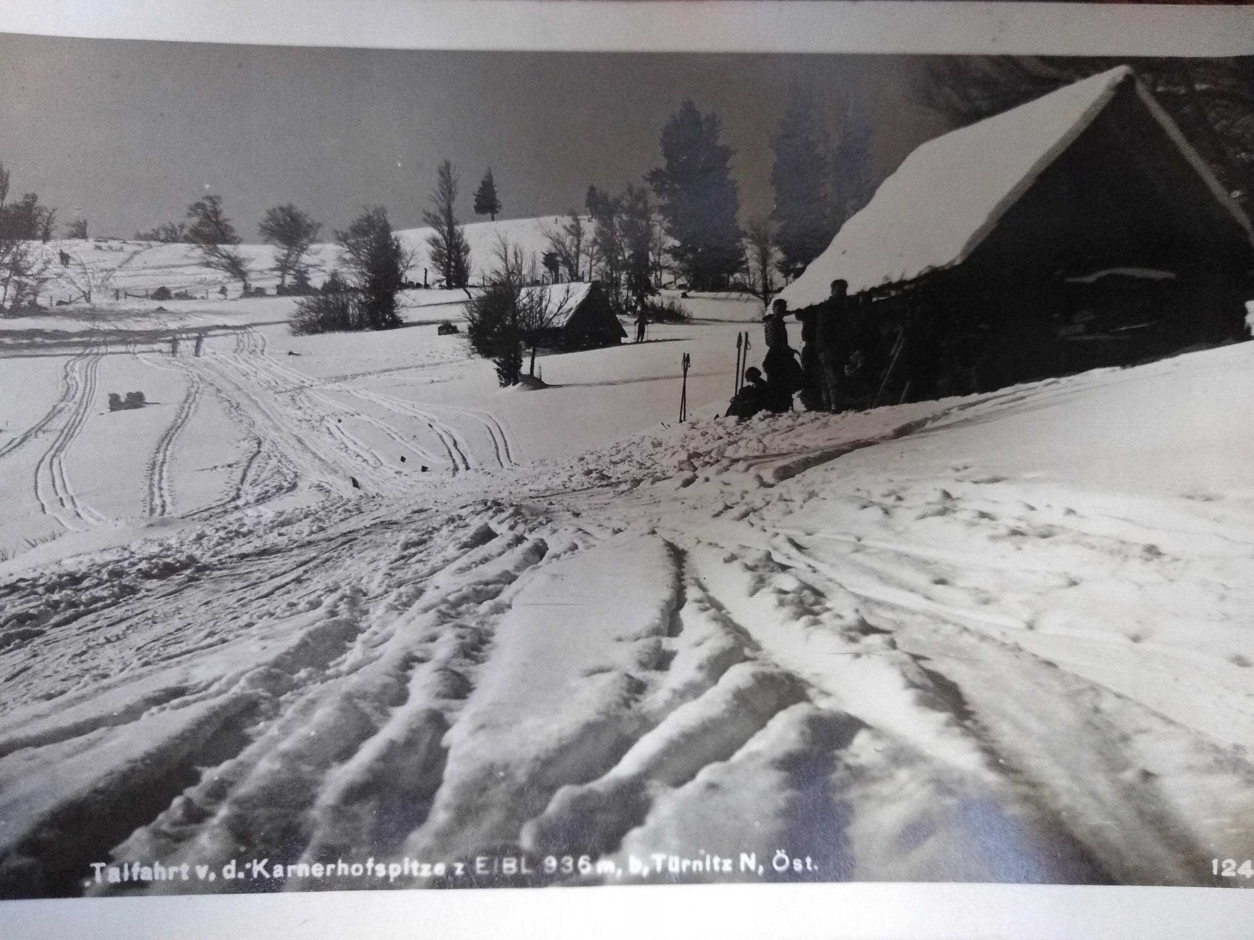 Rakúska pohľadnica Eibl Alpes Turnitz