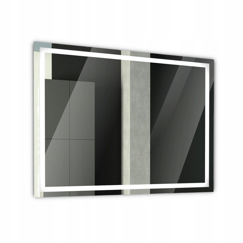Зеркало для ванной с подсветкой 80x60 AT